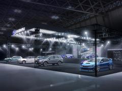 スバル、東京オートサロンに「フォレスター」などのSTIコンセプトモデルを出展