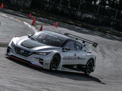 EVレーシングカー、日産リーフニスモRCに試乗!