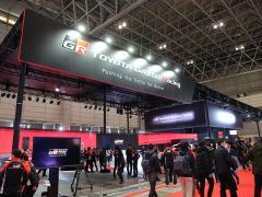 【東京オートサロン2019】TOYOTA GAZOO Racing:新型スープラのレースカ