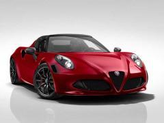 アルファロメオ、「4C」「4C スパイダー」に創業107周年記念の特別限定車を追加