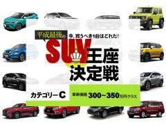 今、買うべき1台はこれだ!平成最後のSUV王座決定戦【カテゴリーC】