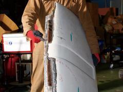 走れR-2 「ボンネットの補修その3」の巻