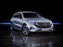 メルセデス・ベンツ、SUVの新型電気自動車「EQC」を発表