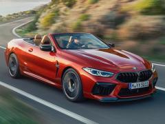 BMW、M8のオープンモデル「M8 カブリオレ」を発表