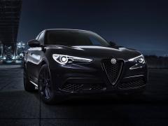 アルファロメオ、SUV「ステルヴィオ」にマットブラック仕上げの限定車を設定