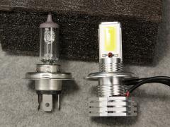 絶滅危惧種スバルサンバーを快走仕様!「第5回 最先端LEDヘッドライトに挑戦」