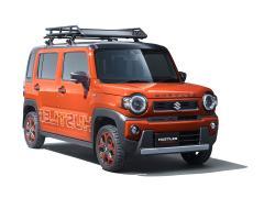 スズキ、ハスラーコンセプトや可変ボディ車を東京モーターショーに出展