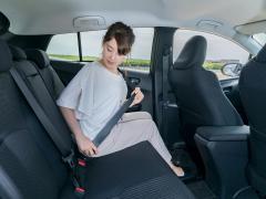 後部座席のシートベルトが義務化!一般道でも未着用の場合は罰則に