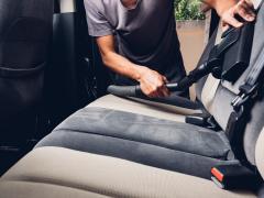 車内のホコリを取る方法