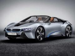 BMW、プラグインハイブリッドモデル「i8ロードスター」を2018年に発売