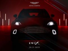 アストンマーティン、ブランド初のSUV「DBX」の内装公開&価格を発表
