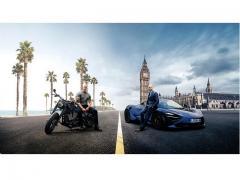 ワイスピのブルーレイに超高級車「McLaren720S」をセットで限定発売!!