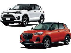 DAIHATSU ロッキー&TOYOTA ライズ 両車の注目ライバルとガチ比較
