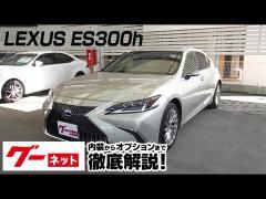【レクサス ES】10系 ES300h バージョンL グーネット動画カタログ
