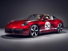 ポルシェ、限定車「911 タルガ 4S ヘリテージデザイン エディション」を発表