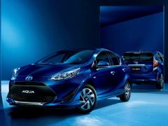 トヨタ、アクアの特別仕様車「S スタイル ブラック」に安全装備を追加