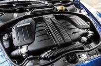 ベントレー コンチネンタル GT スピード コンバーチブル(エンジン)