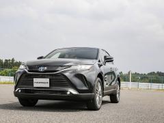 【試乗レポート トヨタ ハリアー】デザインを磨き上げた人気SUV
