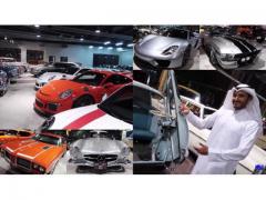 918スパイダーにベンツのプルマン、マイバッハ!  カタール王子のガレージに潜入!!