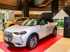 【DS DS 3 CROSSBACK E-TENSE】DS初のEVの展示イベントを開催