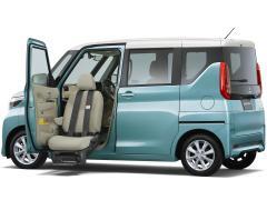 ミツビシ、「eK スペース」「eK クロス スペース」に福祉車両を設定