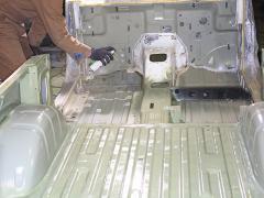 エンジンルームのカラーは失敗?  ポンコツジムニー ハコ替え計画13-1