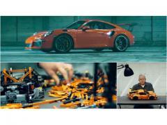 機能まで再現!?    LEGOでつくるポルシェ「911 GT3 RS」