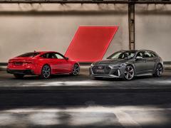 アウディ、新型「RS 6 アバント」「RS 7 スポーツバック」「RS Q8」を発表