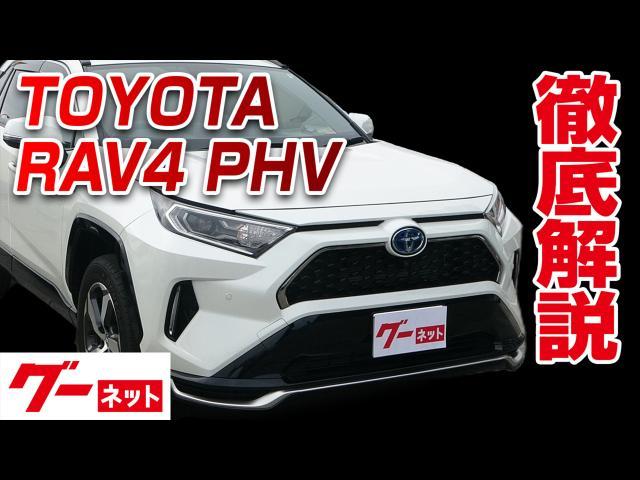 【トヨタ RAV4 PHV】50系 G Z グーネット動画カタログ