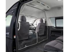 トヨタ ハイエース用「飛沫感染対策セパレータ」を発売