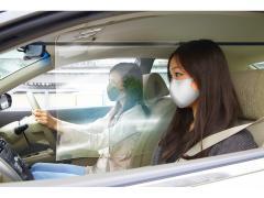 車内用の飛沫感染防止パーテーション『車向け飛沫感染防止 CARテンブロッカ−』発売