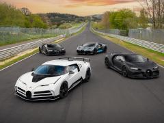 ブガッティ、総額2000万ユーロの車両テスト ニュルブルクリンクの最難関コースに挑む