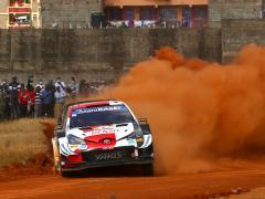 トヨタ ガズーレーシング、WRC 第6戦 サファリ・ラリー初日にヤリスWRCがトップ3独占