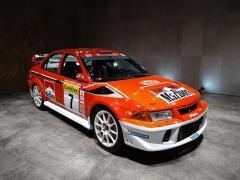 三菱『WRC展』本社ショールームで開催 ランエボのレプリカ車両展示も