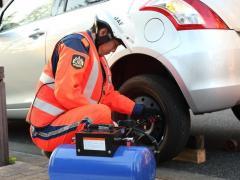 JAFがタイヤ貸し出しサービスを実施、全国に順次拡大 タイヤ関連トラブルが全体の約2割