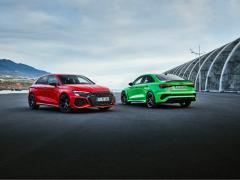 新型 RS 3 欧州で発表 日常生活にも適したプレミアムスポーツセダン アウディ