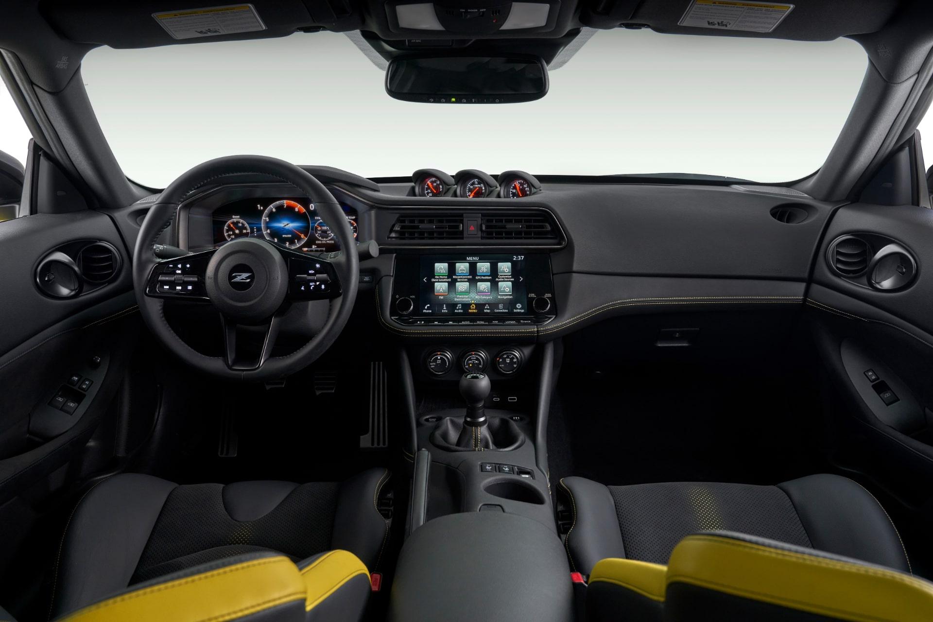 日産「Z」 インテリア(米国市場)特別限定仕様車「Proto Spec」