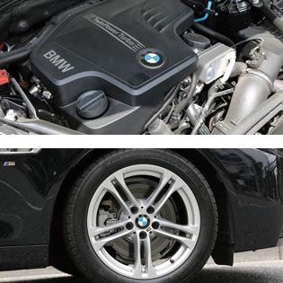 BMW 523i エンジン・タイヤホイール