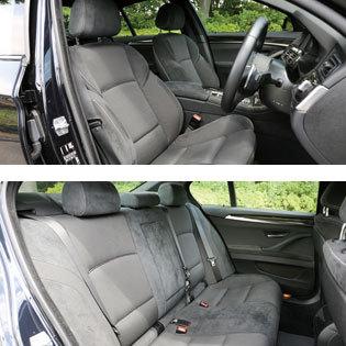 BMW 523i 内装
