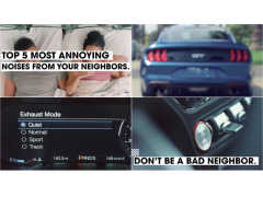 フォード マスタング 騒音トラブルを回避する「静音モード」って何?