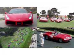 フェラーリ 70周年  ペブルビーチで盛大なバースデーパーティー