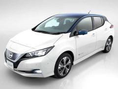 日産、EVモデル(電気自動車)「リーフ」をフルモデルチェンジ