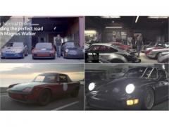 ポルシェ最狂コレクター マグナス・ウォーカーのプライベートドライブがシブい