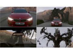 迫真の追走劇! BMWは鉄くずモンスターを振りきれるか!?