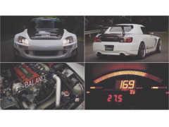超高回転型ホンダ S2000が見せる怒涛の400馬力パフォーマンス