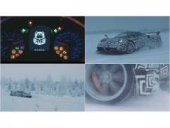2億8000万円のパガーニ ウアイラが、大雪原を走破! スーパーカー度でブガッティに勝つ