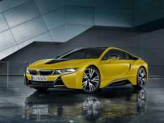 BMW、「i8」の限定車「i8 Protonic Frozen Yellow」の受注を開始