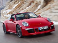 ポルシェ、「911 タルガ4 GTS」「カイエン ターボS」の予約受注を開始