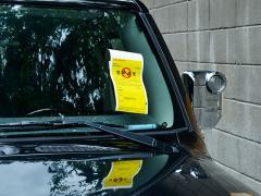 駐車違反(駐禁)を無視すると車検が受けられないのは本当か