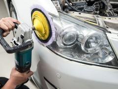 車のヘッドライトの黄ばみ対策とコーティング方法について